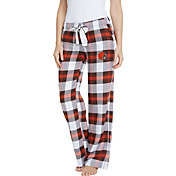 Concepts Sport Women's Cleveland Browns Hideaway Flannel Pants