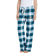 Concepts Sport Women's Philadelphia Eagles Hideaway Flannel Pants