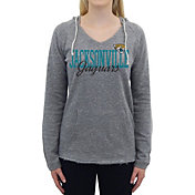 Concepts Sport Women's Jacksonville Jaguars Mainstream Grey Hooded Long Sleeve Shirt