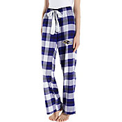 Concepts Sport Women's Baltimore Ravens Hideaway Flannel Pants