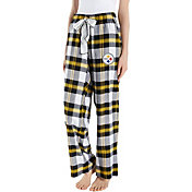 Concepts Sport Women's Pittsburgh Steelers Hideaway Flannel Pants