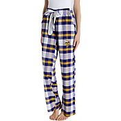 Concepts Sport Women's Minnesota Vikings Hideaway Flannel Pants