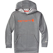 Carhartt Boys' Force Signature Fleece Hoodie