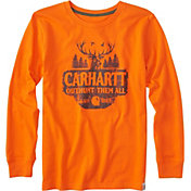 Carhartt Boys' Outhunt Them All Long Sleeve Shirt