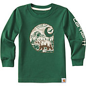 Carhartt Little Boys' Explore the Outdoors Long Sleeve Shirt