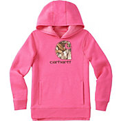 Carhartt Little Girls' Camo C Fleece Hoodie