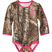 Carhartt Infant Girls' Camo Long Sleeve Onesie
