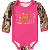 7c69661c7 Carhartt Infant Girls' Forest Deer Long Sleeve Onesie