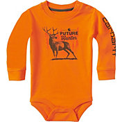Carhartt Infant Boys' Future Hunter Long Sleeve Onesie