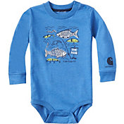 Carhartt Infant Boys' Gone Fishing Long Sleeve Onesie