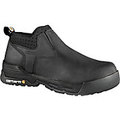 Carhartt Men's Force 4'' Slip-On Composite Toe Waterproof Work Boots