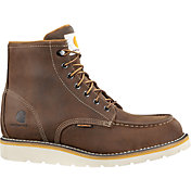 Carhartt Men's Moc Toe Wedge 6'' Waterproof Work Boots