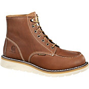 Carhartt Men's Moc Toe Wedge 6'' Waterproof Steel Toe Work Boots