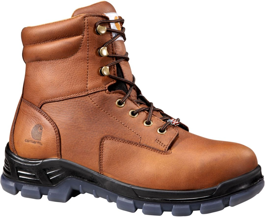 409b7418fba Carhartt Men's Made in the USA 8'' Waterproof Composite Toe Work Boots