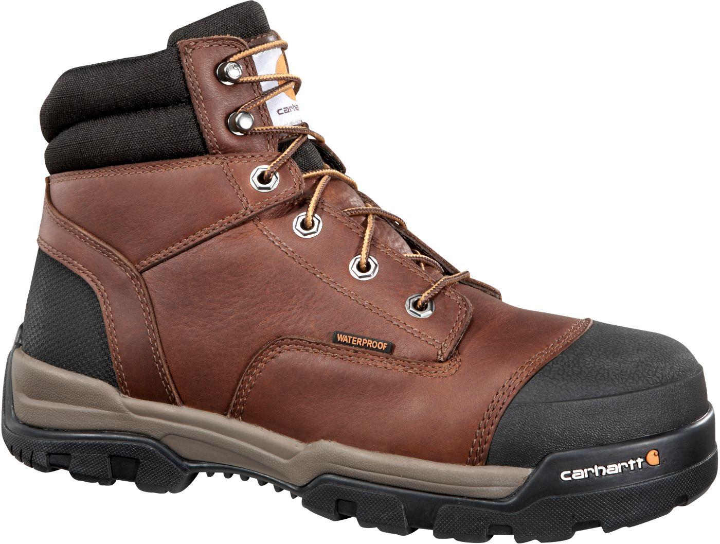 Carhartt Men's Ground Force 6'' Waterproof Composite Toe Work Boots