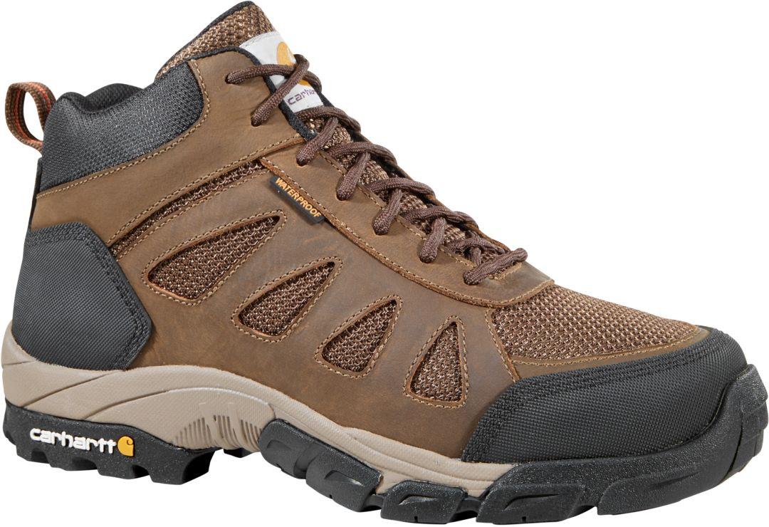 6526461cdb2 Carhartt Men's Lightweight Mid Hiker Waterproof Composite Toe Work Boots