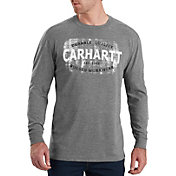 Carhartt Men's Maddock Rugged Workwear Logo Long Sleeve Shirt