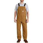 Carhartt Men's Duck Bib Lined Overalls