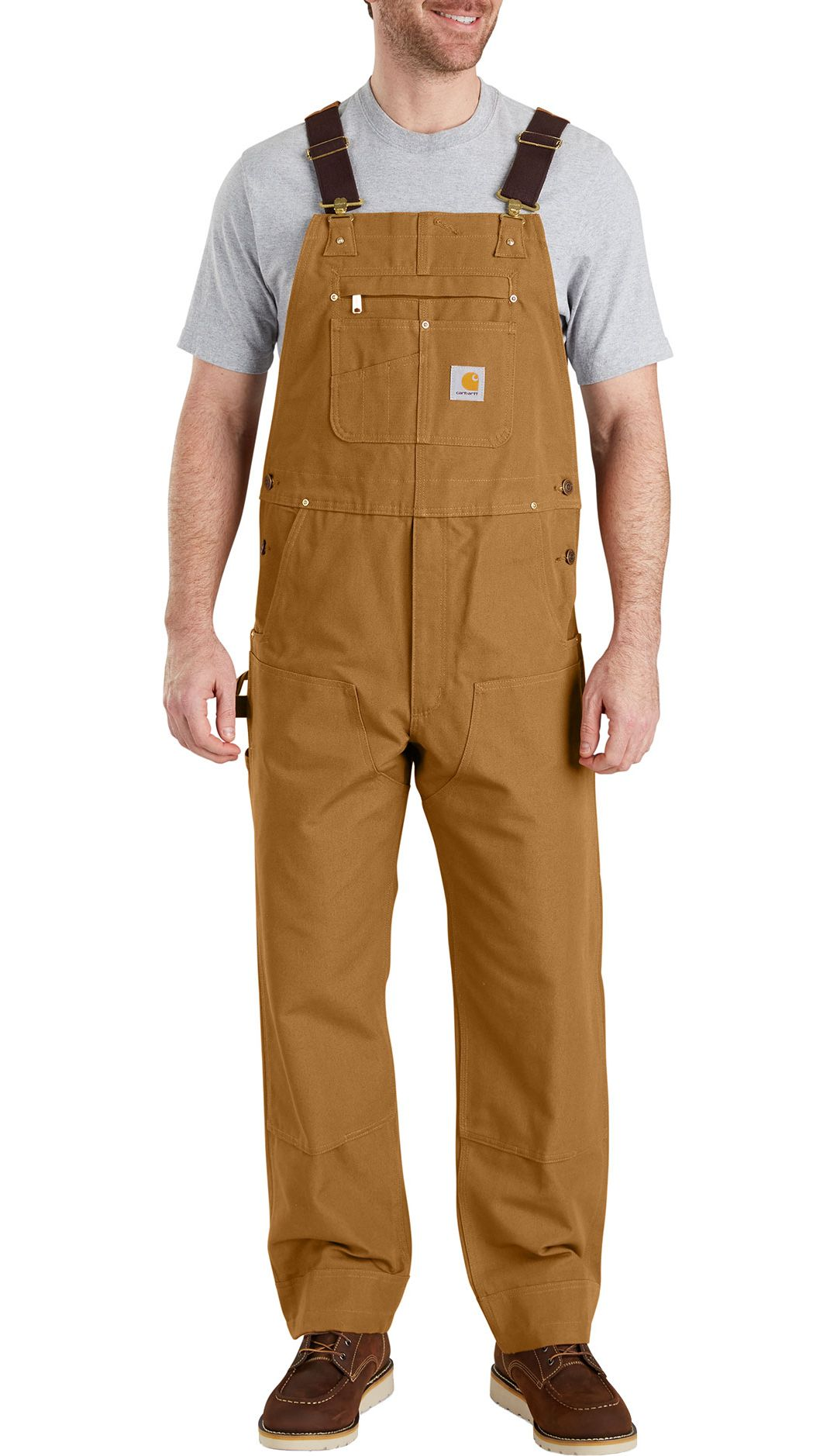 bc169f7fc9a Carhartt Men's Duck Bib Overalls | DICK'S Sporting Goods