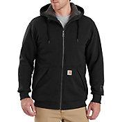 Carhartt Men's Rain Defender Rockland Sherpa-Lined Full-Zip Hooded Sweatshirt