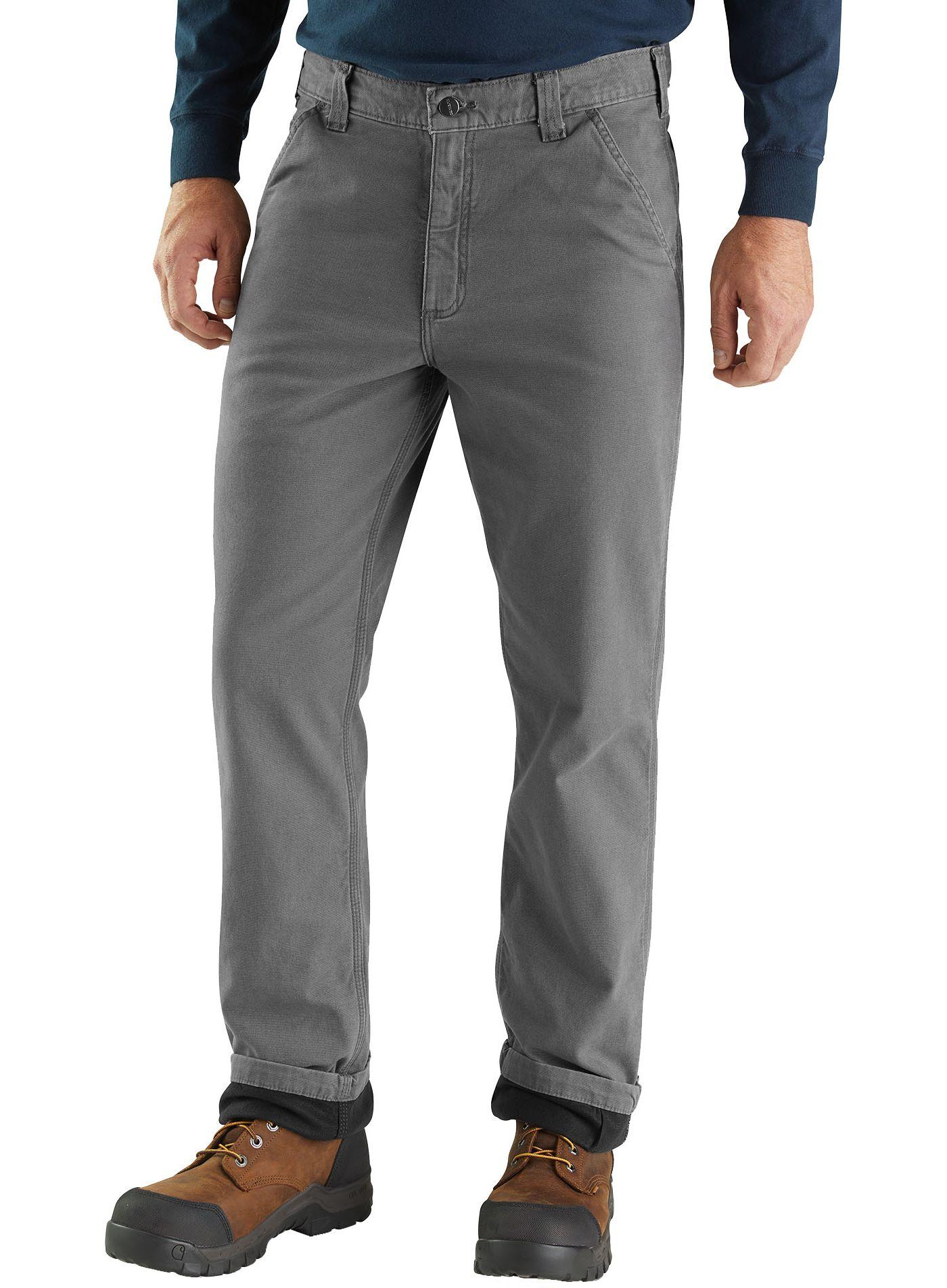 Carhartt Men's Rugged Flex Rigby Flannel Dungarees (Regular and Big & Tall)