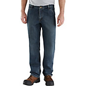 Carhartt Men's Relaxed Fit Holter Denim Dungarees (Regular and Big & Tall)