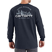 Carhartt Men's Workwear Rugged Outdoors Mountain Pocket Long Sleeve Shirt