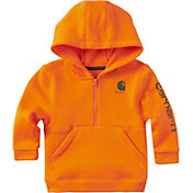 Carhartt Toddler Boys' Half-Zip Fleece Hoodie