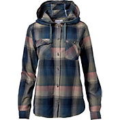 Carhartt Women's Beartooth Hooded Flannel Shirt