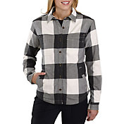 Carhartt Women's Rugged Flex Hamilton Fleece-Lined Button Down Shirt