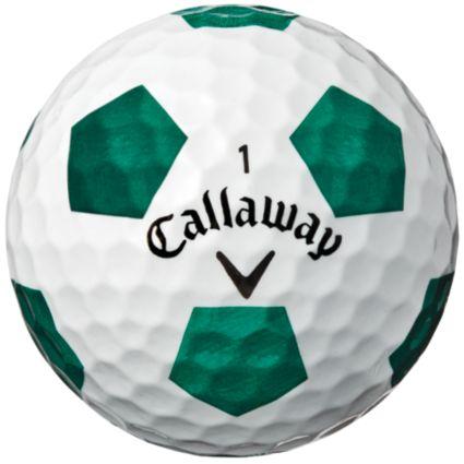 Callaway 2018 Chrome Soft Truvis Green Golf Balls – Sports Matter Special Edition