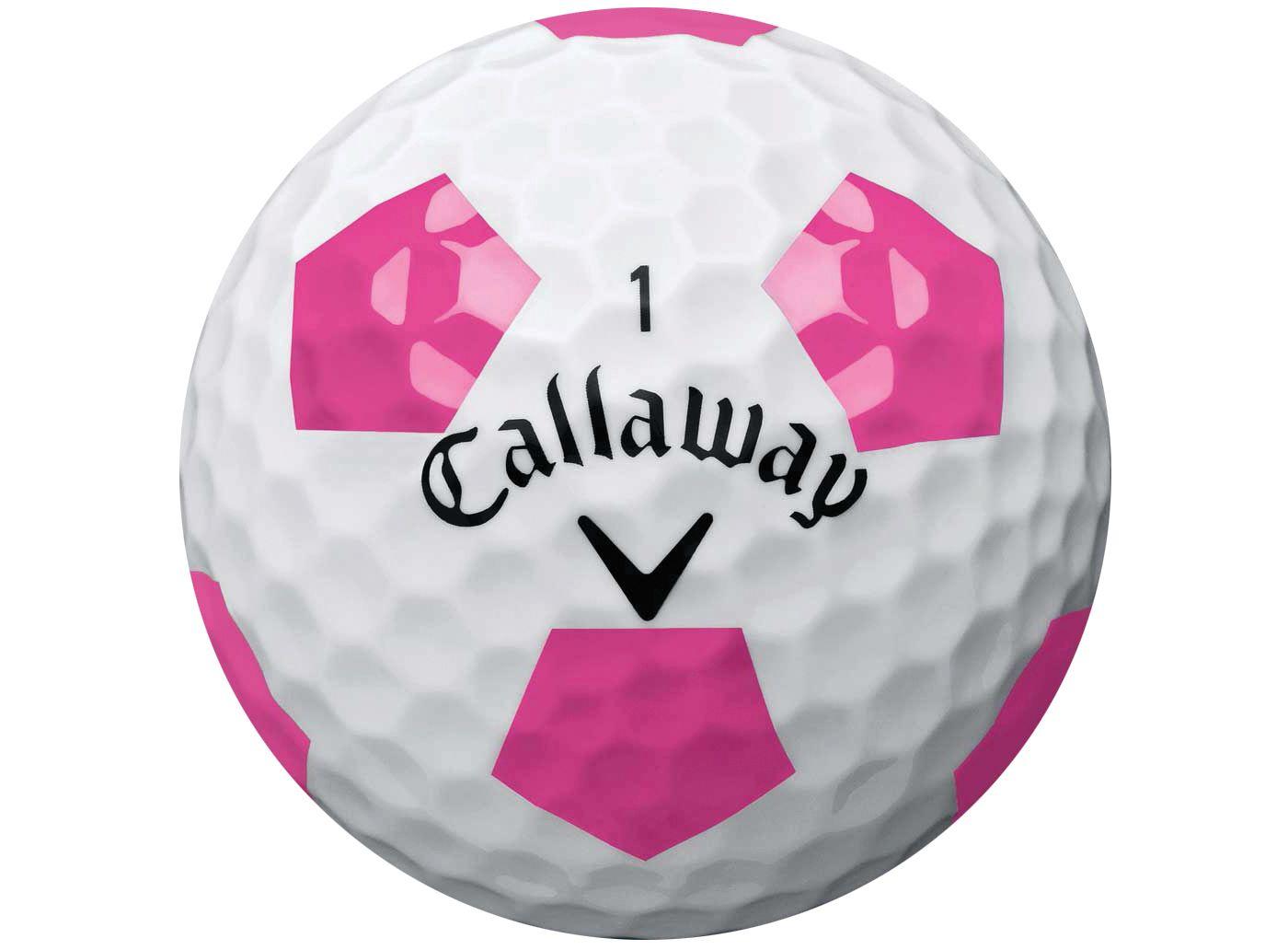 Callaway 2018 Chrome Soft Truvis Pink Golf Balls
