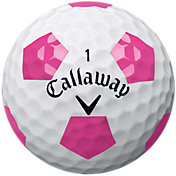 Callaway 2018 Chrome Soft Truvis Pink Golf Balls