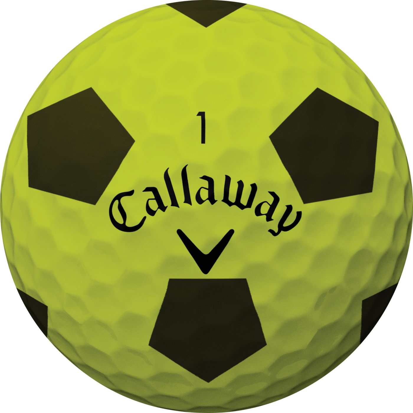 Callaway 2018 Chrome Soft Truvis Yellow Golf Balls
