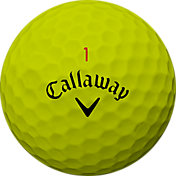 Callaway 2018 Chrome Soft X Yellow Golf Balls