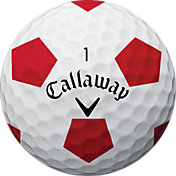 Callaway 2018 Chrome Soft X Truvis Red Golf Balls