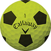 Callaway 2018 Chrome Soft X Truvis Yellow Golf Balls