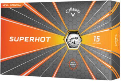 Callaway Superhot Golf Balls – 15 Pack