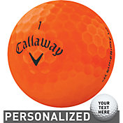 Callaway Superhot BOLD Orange Personalized Golf Balls – 15 Pack