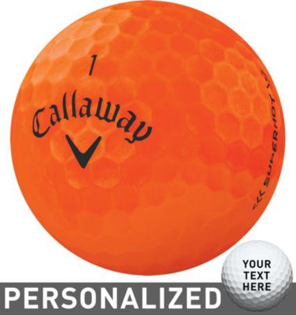 Callaway Superhot BOLD Orange Personalized Golf Balls – 15 Pack