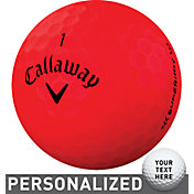 Callaway Superhot BOLD Red Personalized Golf Balls – 15 Pack