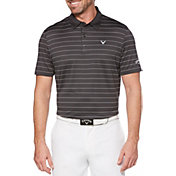 Callaway Men's Ventilated Stripe Golf Polo – Big & Tall