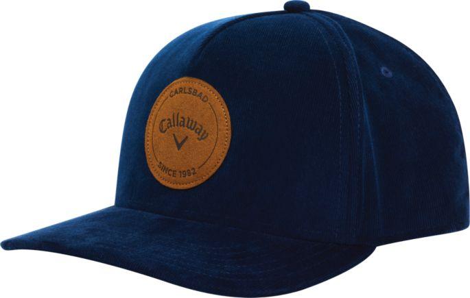 d4153db0a Callaway Men's Corduroy Golf Hat