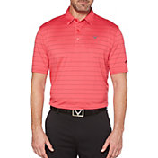 Callaway Men's Ventilated Stripe Golf Polo