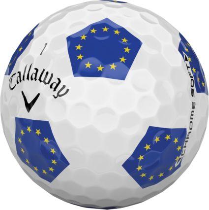 Callaway 2018 Chrome Soft Truvis European Golf Balls