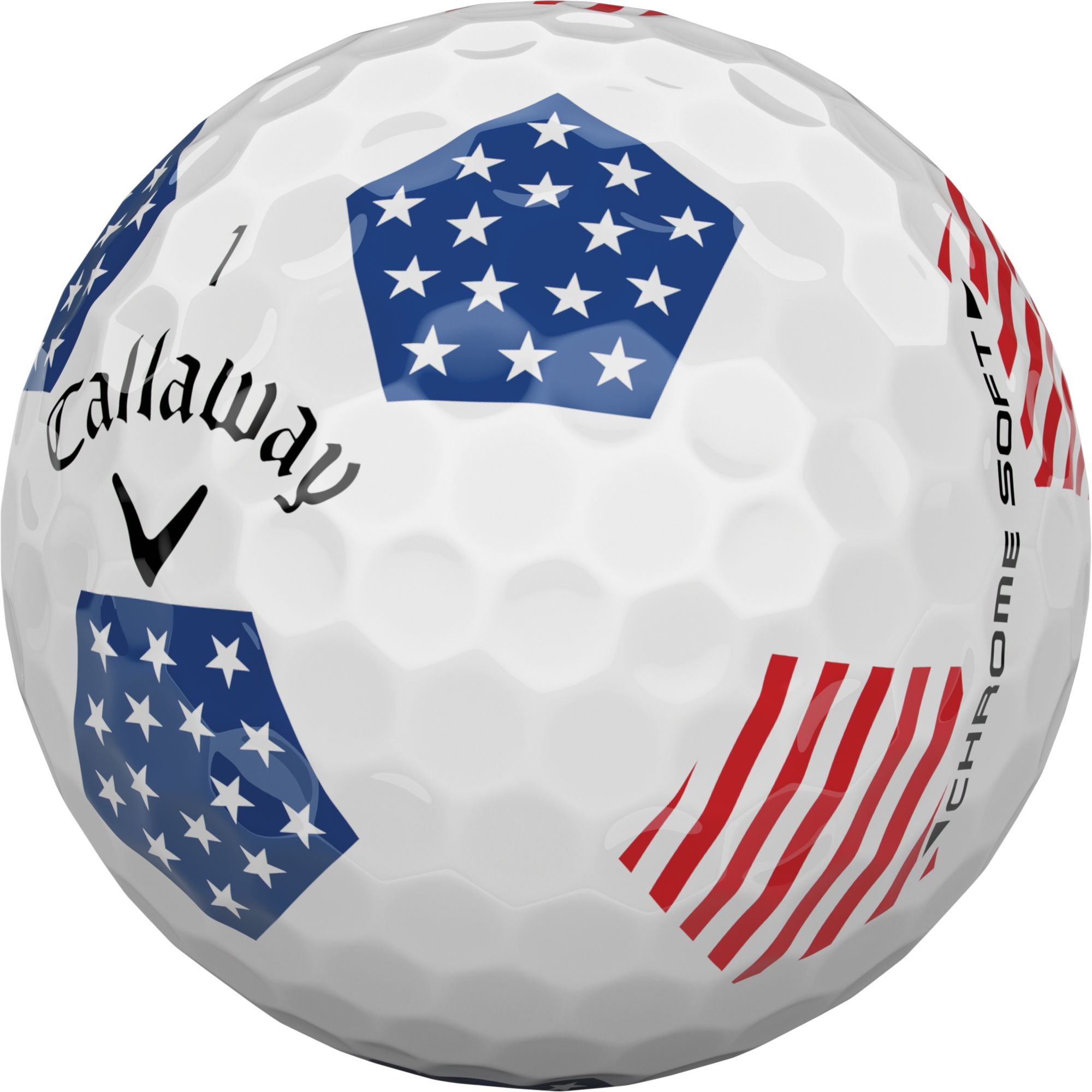 callaway 2018 chrome soft truvis stars and stripes golf. Black Bedroom Furniture Sets. Home Design Ideas