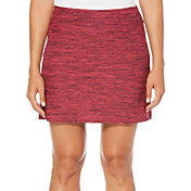 "Callaway Women's 17"" Space-Dye Print Golf Skort"