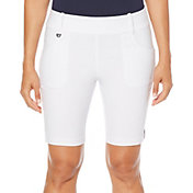 "Callaway Women's 19"" Tech Stretch Solid Golf Shorts"