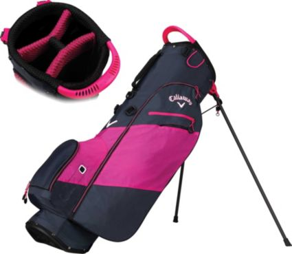 Callaway Women's 2018 Hyper-Lite Zero Double Strap Stand Golf Bag