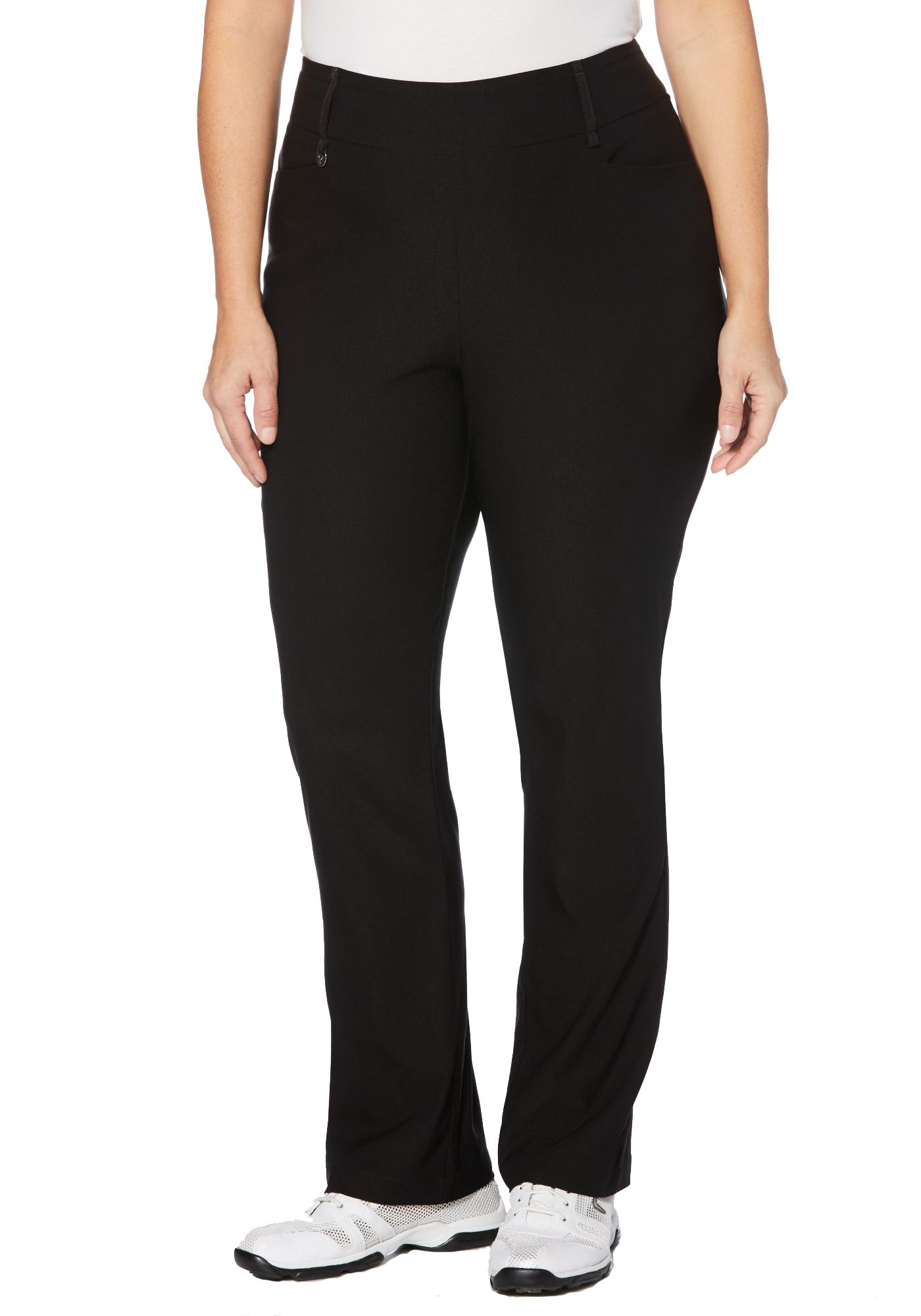Callaway Women's Tech Stretch Solid Golf Pants - Extended Sizes
